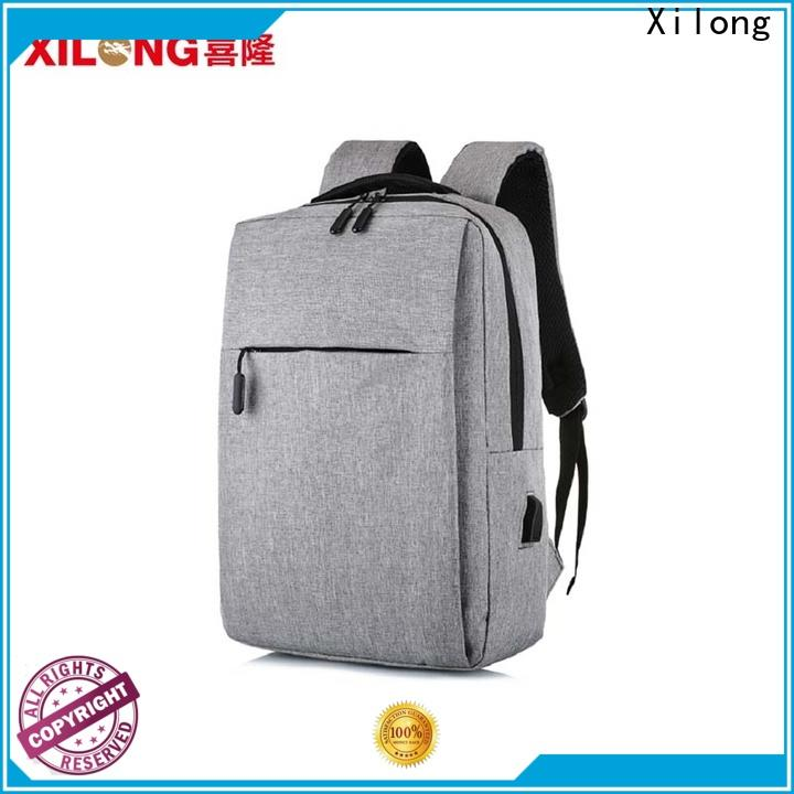Xilong Wholesale waterproof laptop backpack Supply