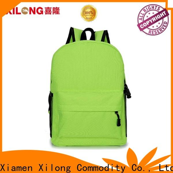 Xilong kids backpacks for school factory