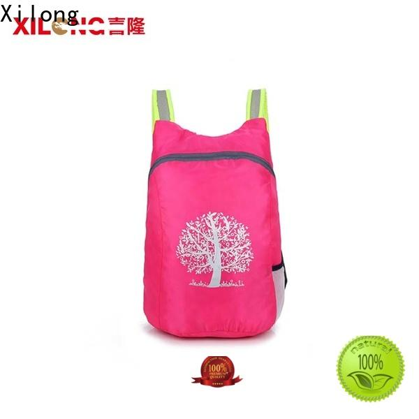 Xilong waterproof folding backpack factory