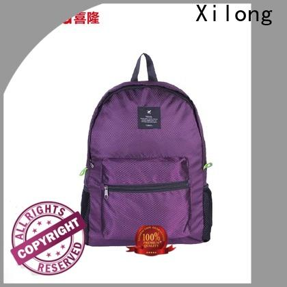 Xilong small folding backpack manufacturers
