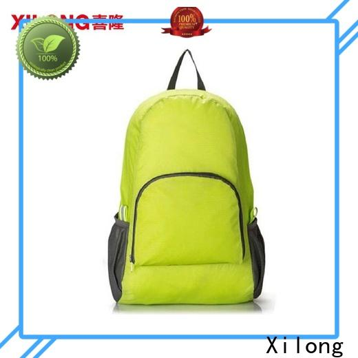 Xilong Latest light foldable backpack for business