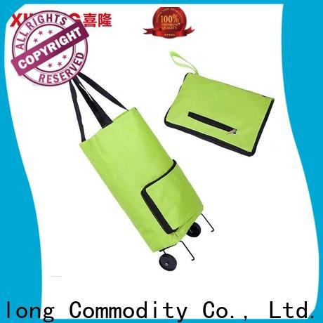 Xilong folding shopping cart trolley bag with wheels Suppliers