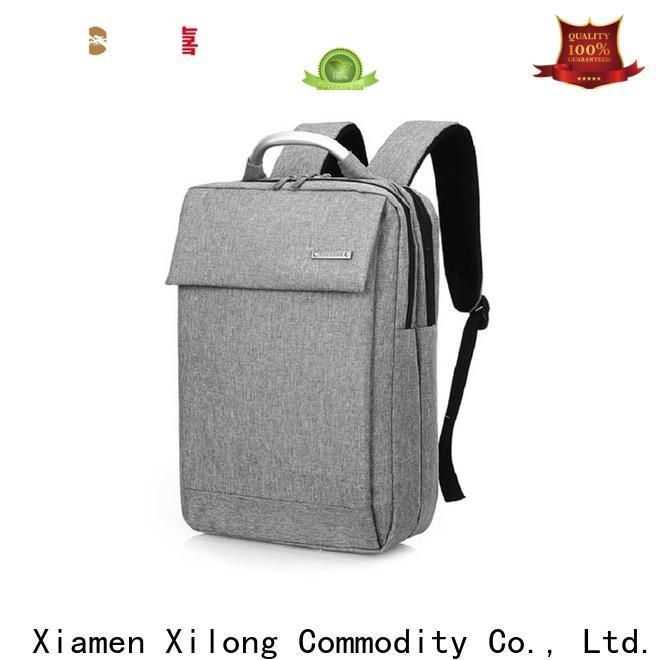 Xilong custom laptop backpack factory