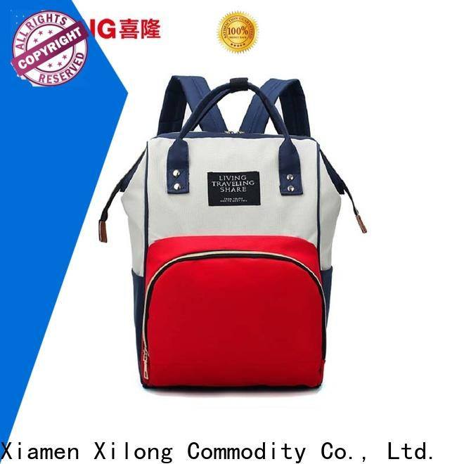 Xilong Top baby backpack diaper bag Supply